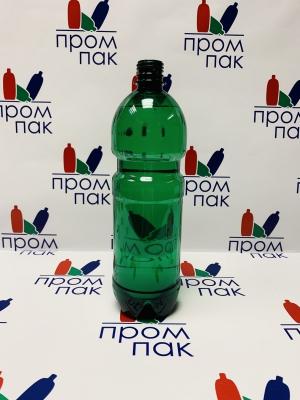 ПЭТ бутылка  1,0 л.  НОРМАЛ (Зеленая)